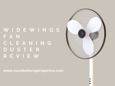 Widewings Foldable Fan Cleaning Duster - Review