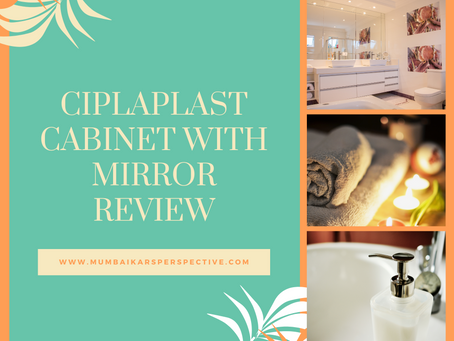 Ciplaplast Cabinet with Mirror
