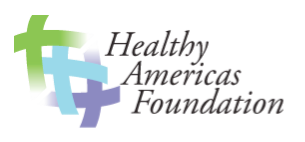 This is the logo for the Healthy Americas Foundation
