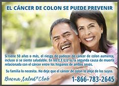 Infocard Cáncer de colon