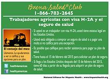 Infocard seguro de salud H2A
