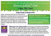 Infocard superar la depresión