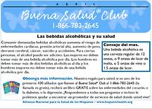 Infocard alcohol