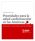 Publication on priorities for cardiovascular health in the Americas