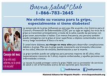 Infocard gripe y diabetis