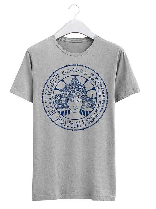 Grey Astarte Goddess T-shirt