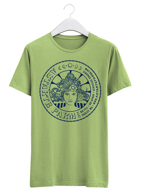Green Astarte Goddess T-shirt