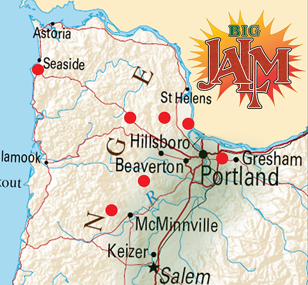 map of retailers selling Big Jalm