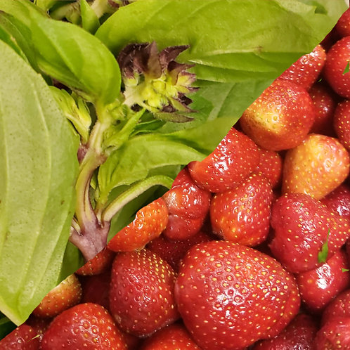 Hood Strawberry with Basil Jalm