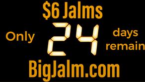 24 Days Left for $6 Jalms!
