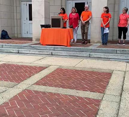 Speech on Gun Violence Awareness Day, Chapel Hill