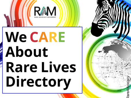 """We CARE About Rare Lives"""