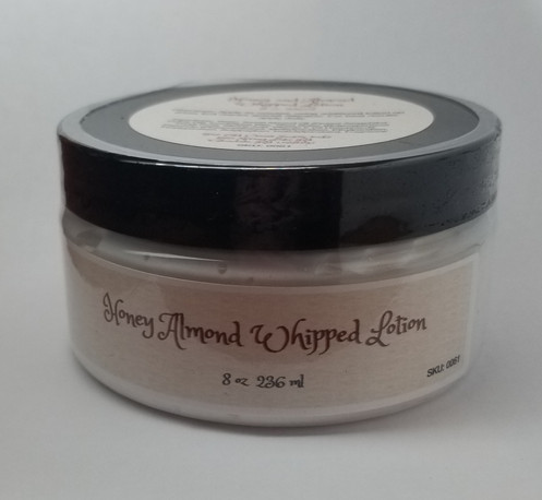 Honey and Almond Whipped Lotion