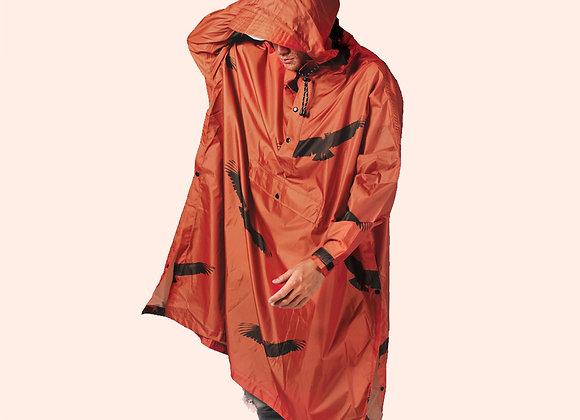 RainKiss Poncho - The Birds