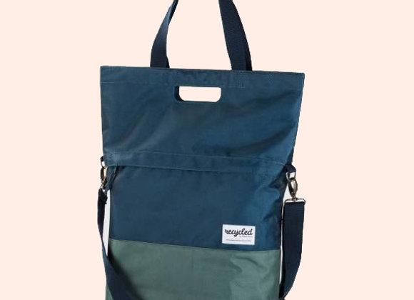Urban Proof Recycled sykkelbag/veske - Blå/grønn