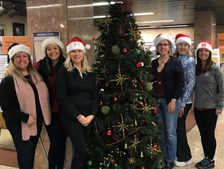 HOLIDAY DECORATING AT ATLANTIC REHABILITATION INSTITUTE