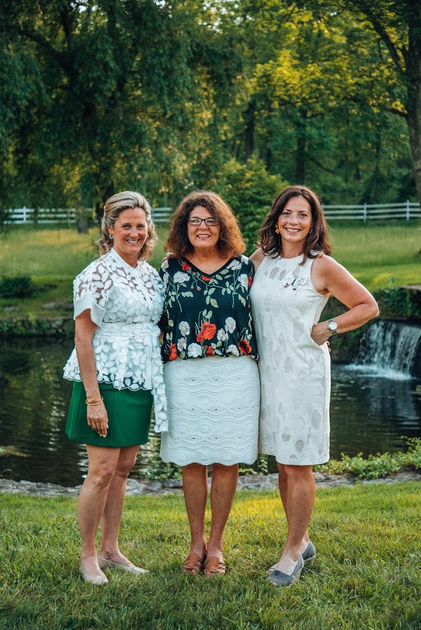 L to R: WAMMC Farm to Table Event Co-Chairs, Lisa Haarmann, Tina Monaghan, Carolyn Badenhausen