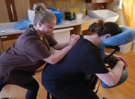 Chatham Twig Funds Neonatal Intensive Care Parent Massage Program at Goryeb Children's Hospital
