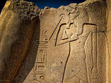 Ramesses III in the Nemes Headdress