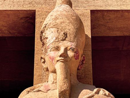 Osiride statues of Hatshepsut