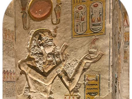 Lord of the Maat like Ra, beloved of Amun