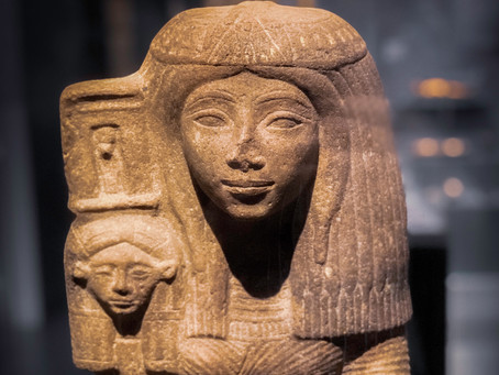 Young Woman with the Standard of the Goddess Hathor