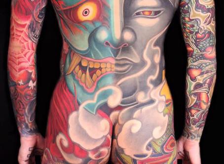 「無盡紋身」孫士恩|魔鬼藏在細節裡  越清晰・越自信