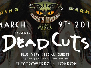 LONDON GIG 9 MARCH 2019