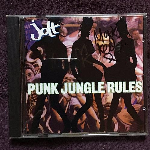 Signed Jolt Punk Jungle Rules CD