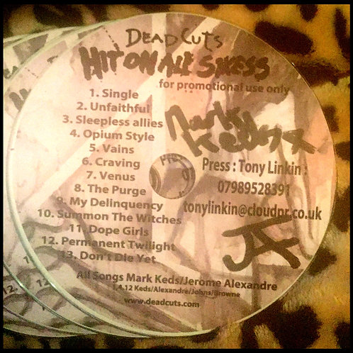 Hit On All Sixess Signed, Promo CD