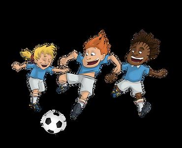 Du foot indoor Ludiq pour les enfants
