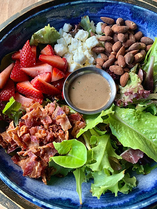 OXCM Strawberry & Mixed Greens Salad