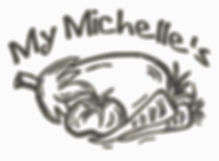 My Michelle's Logo BW -No Oxford-No Feat