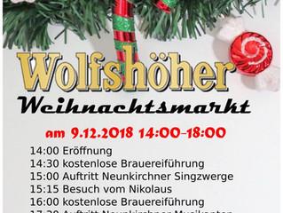 1. Wolfshöher Weihnachtsmarkt