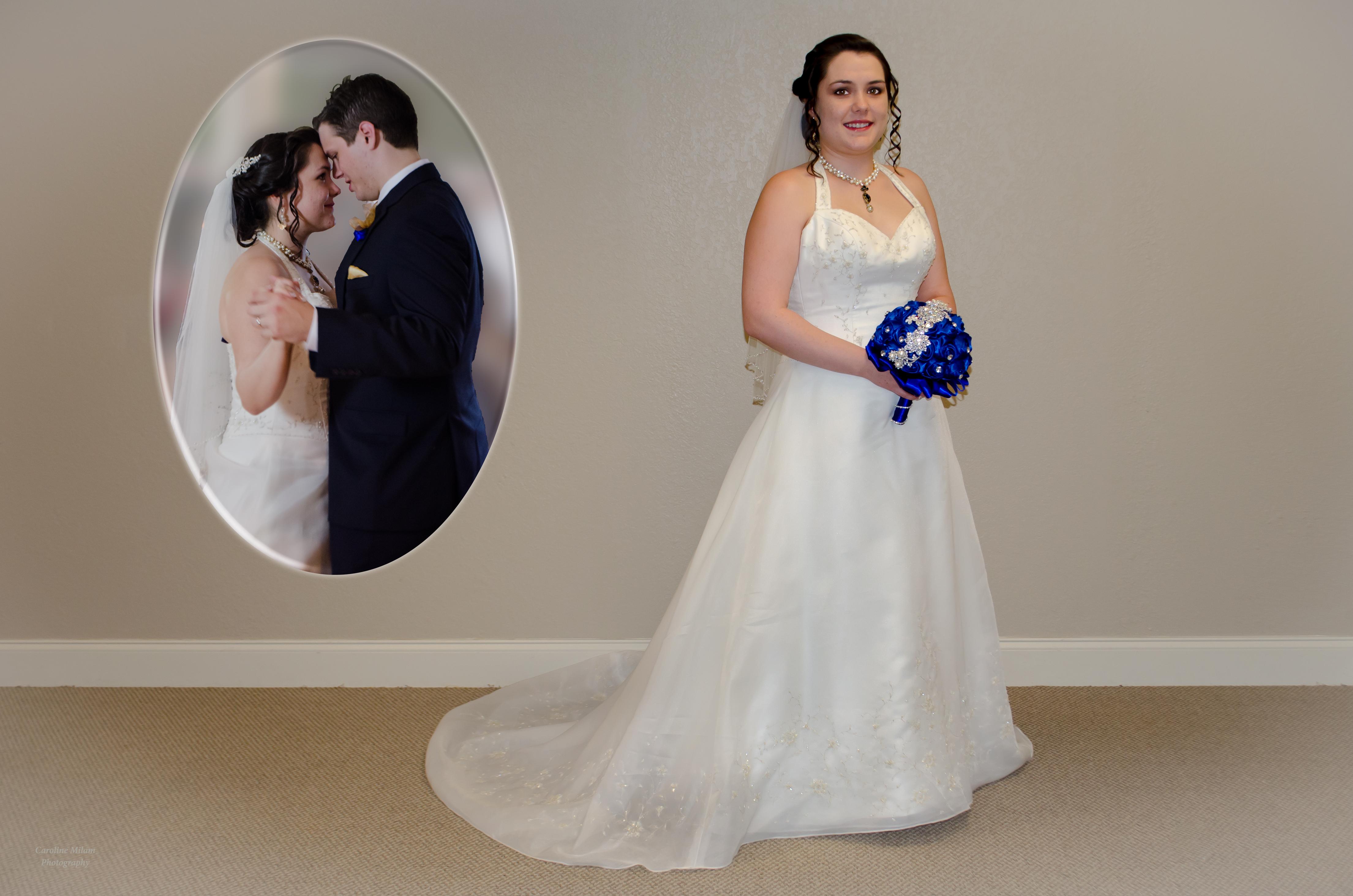 Pre Wedding Bride and inset image