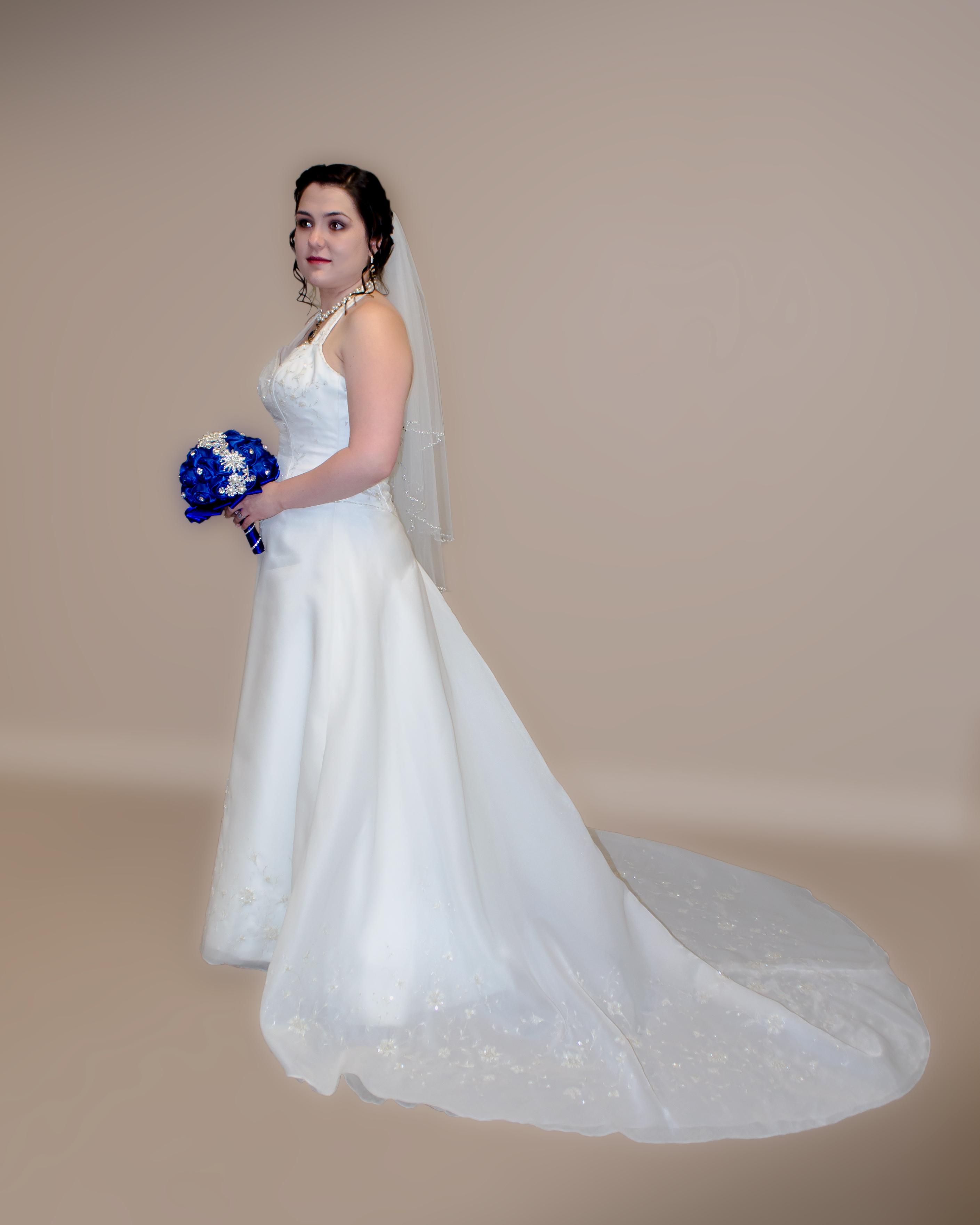 Bride prior to wedding