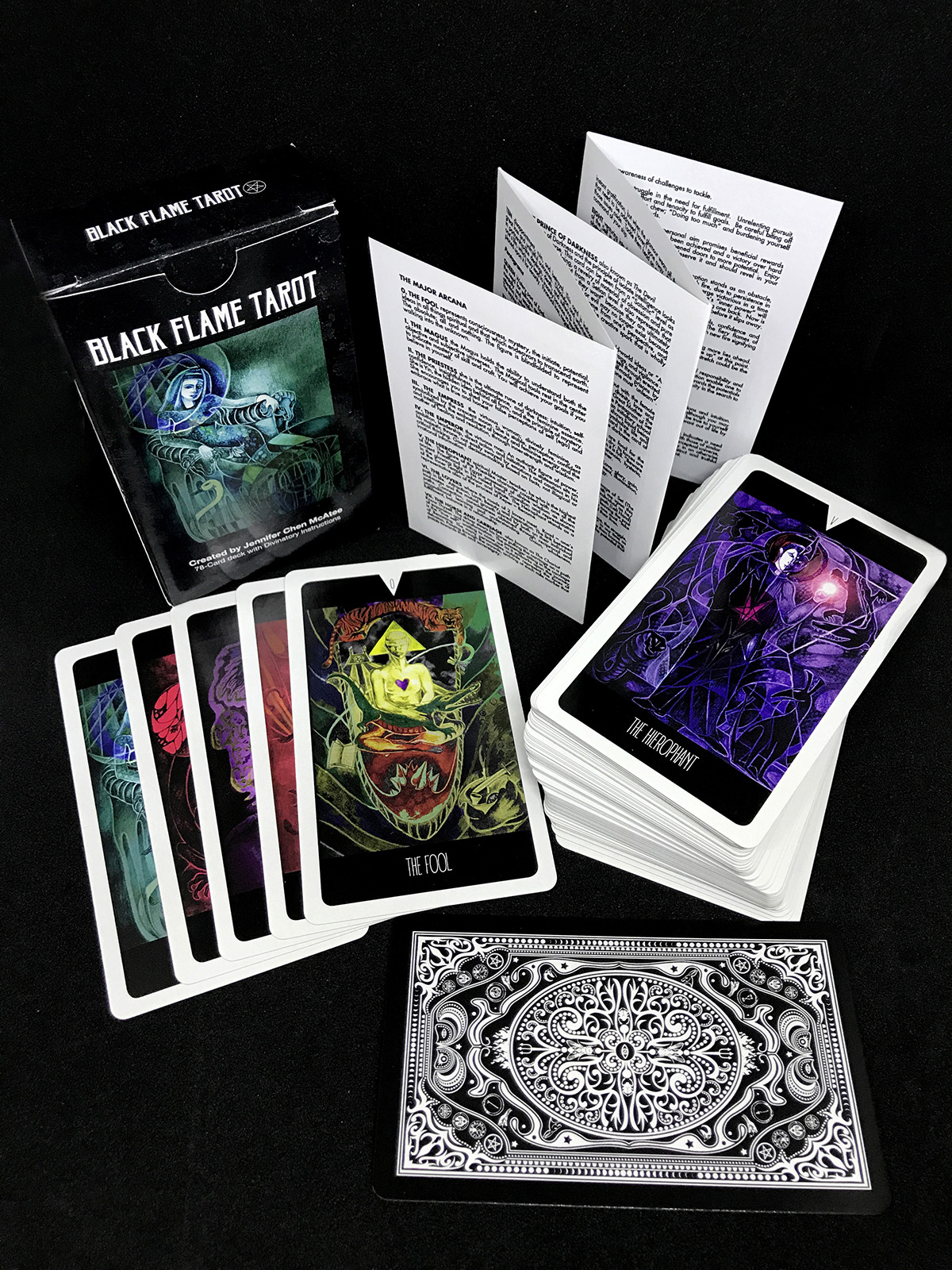 The Black Flame Tarot