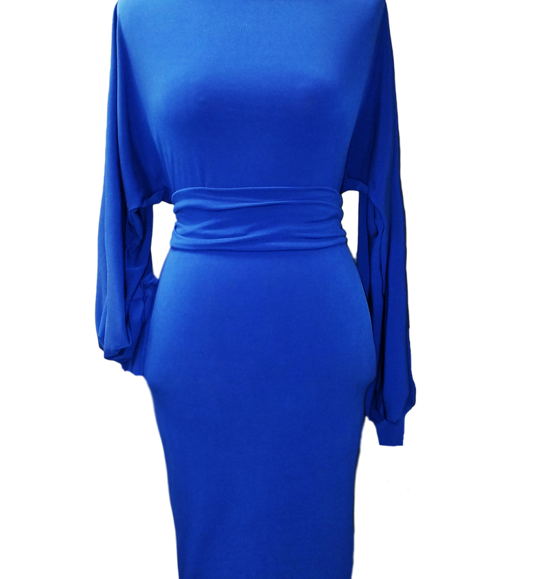 Royalty Ruched Dress
