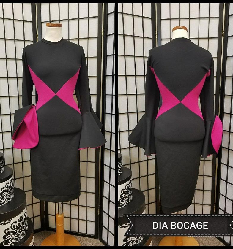 Colorbloc Ponte Dress