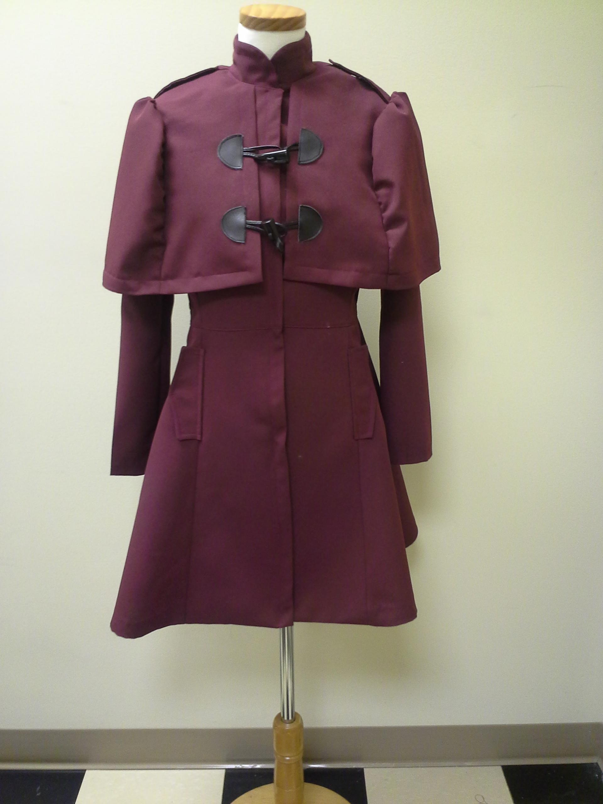 Vintage Caplet Jacket