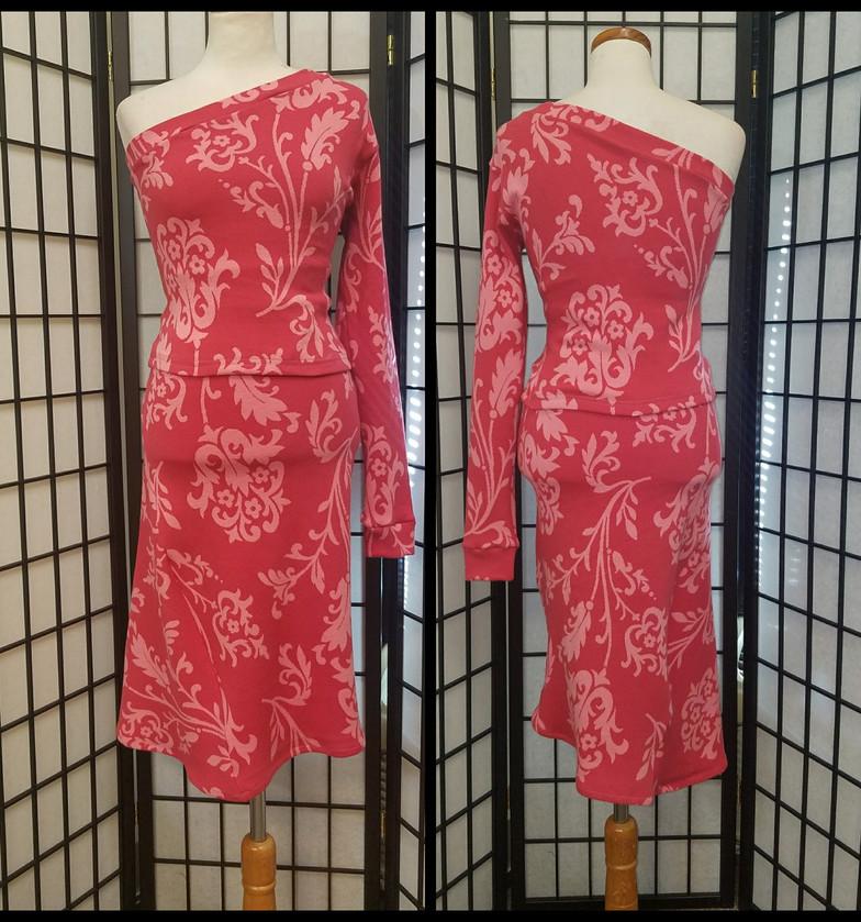 One Shoulder Top_Skirt