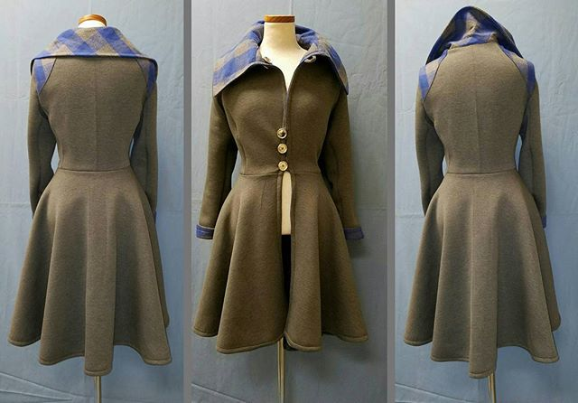 Reverse Full Circled Coat