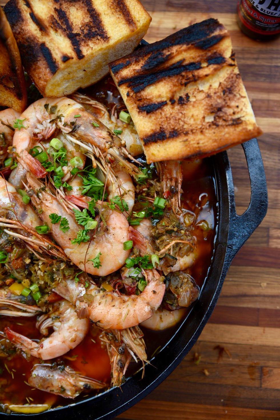 Castiron Shrimp.