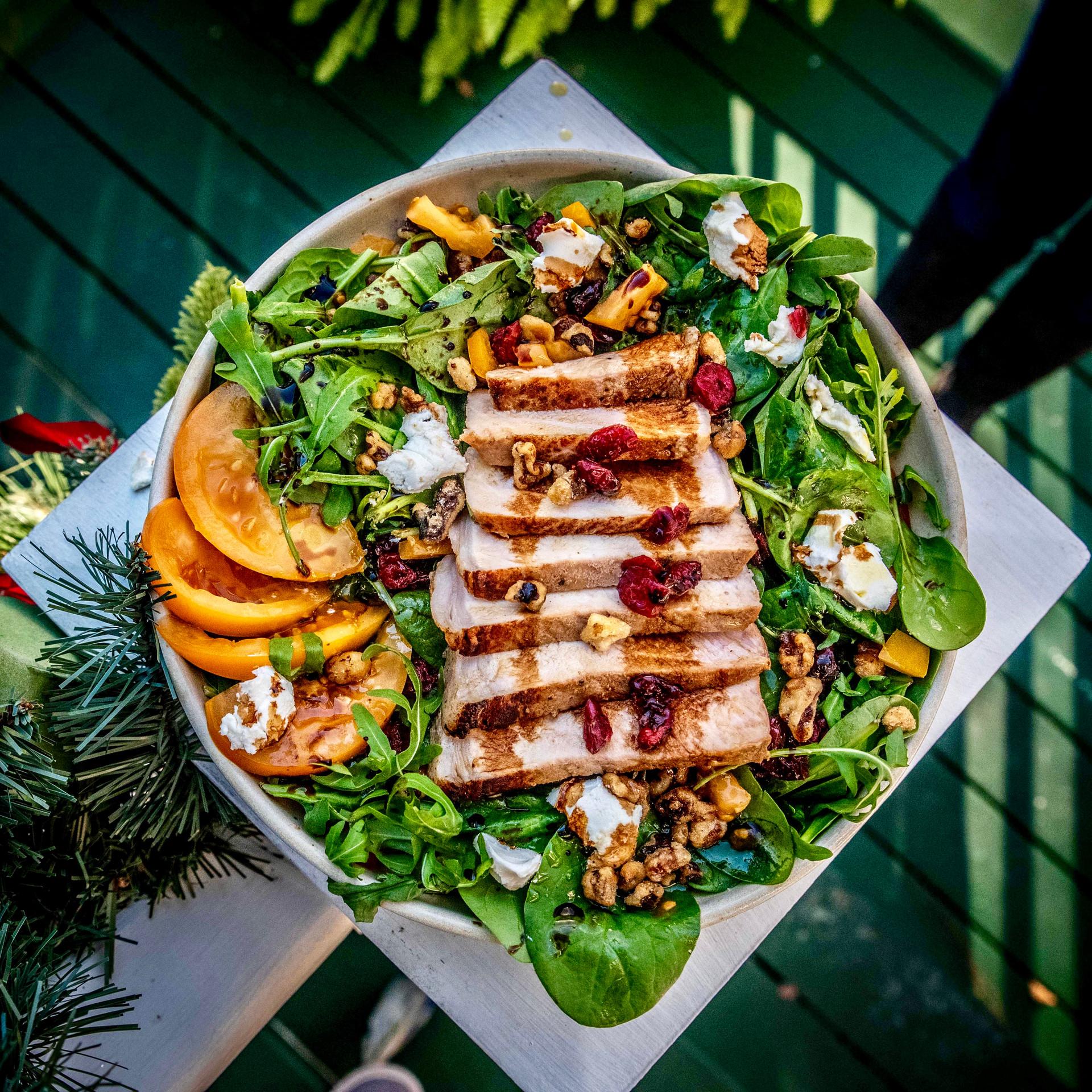 Pork Loin Salad shot for