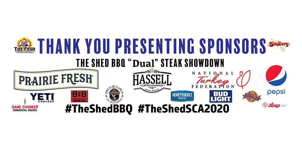 "The Shed BBQ ""Dual"" Steak Showdown"