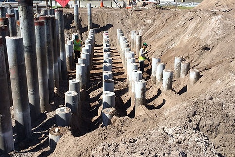 Driven Piling Contractor Florida | Driving Piles