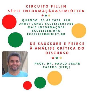 Circuito Fillin realizará nova live dia 31 de maio, às 14h