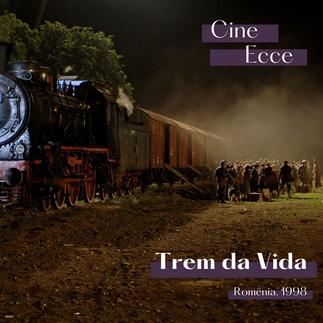 """Produção franco-romena """"Trem da vida"""" foi tema do Cine Ecce"""