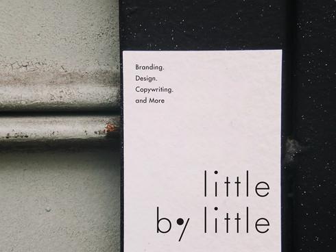 BRANDING for little by little
