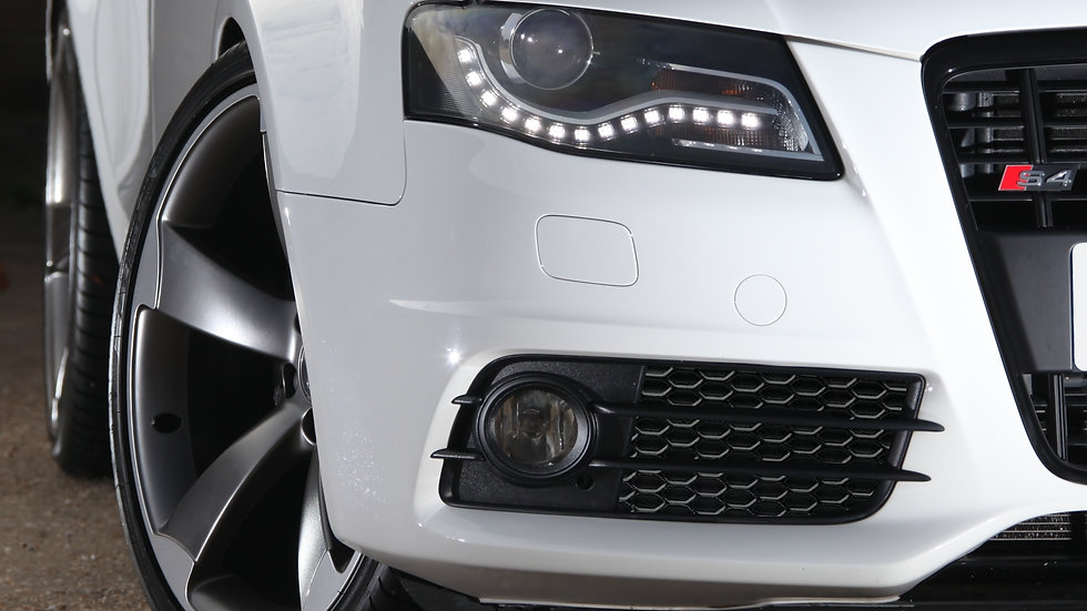 Honeycomb fog light grills - Audi B8 S4/A4 S-Line